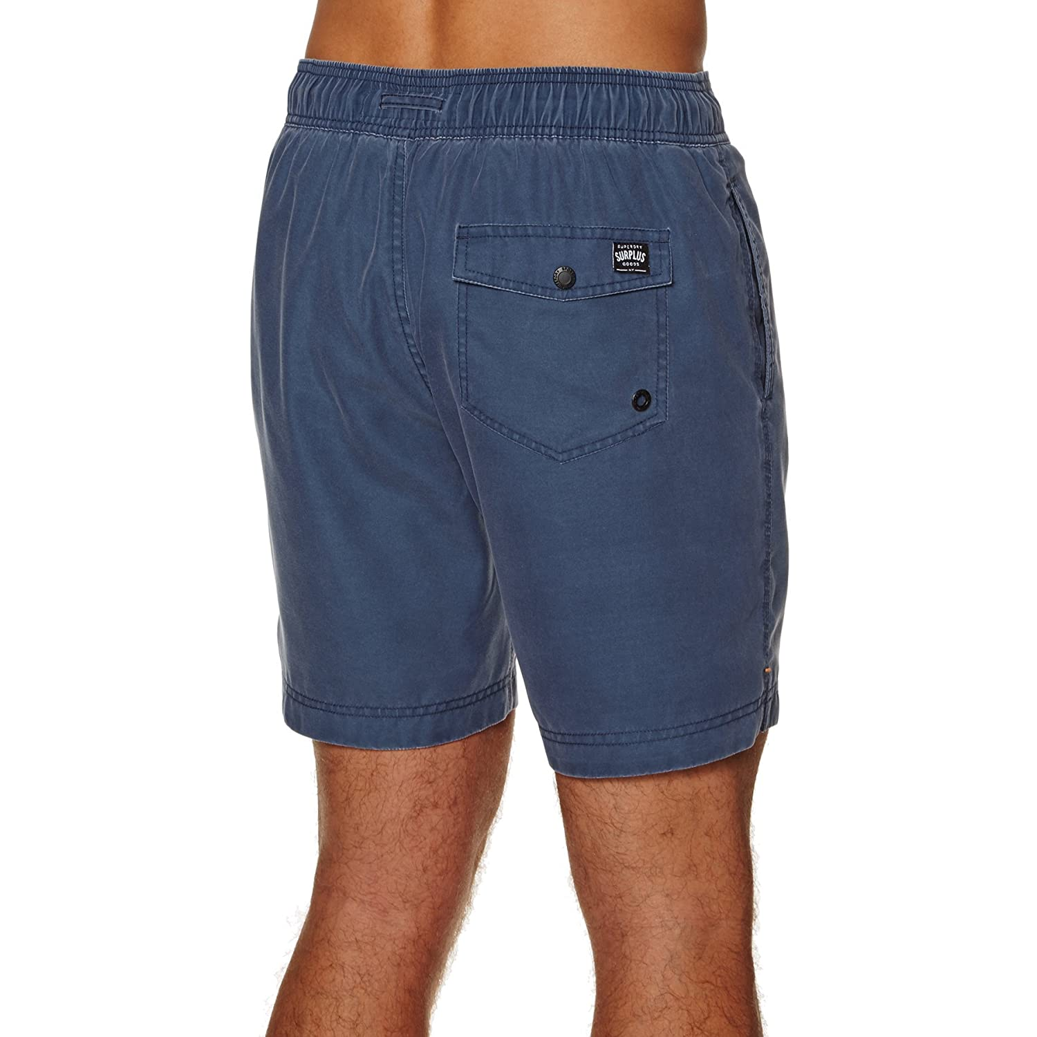 33b3768e8f56d Superdry Surplus Goods Swim Shorts 36 inch Tropical Navy: Amazon.co.uk:  Clothing