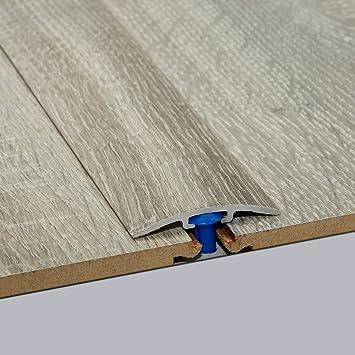 Laminat textur grau  Laminat-Übergangsschiene Nostalgie Eiche Grau Wood Textur 900 m ...