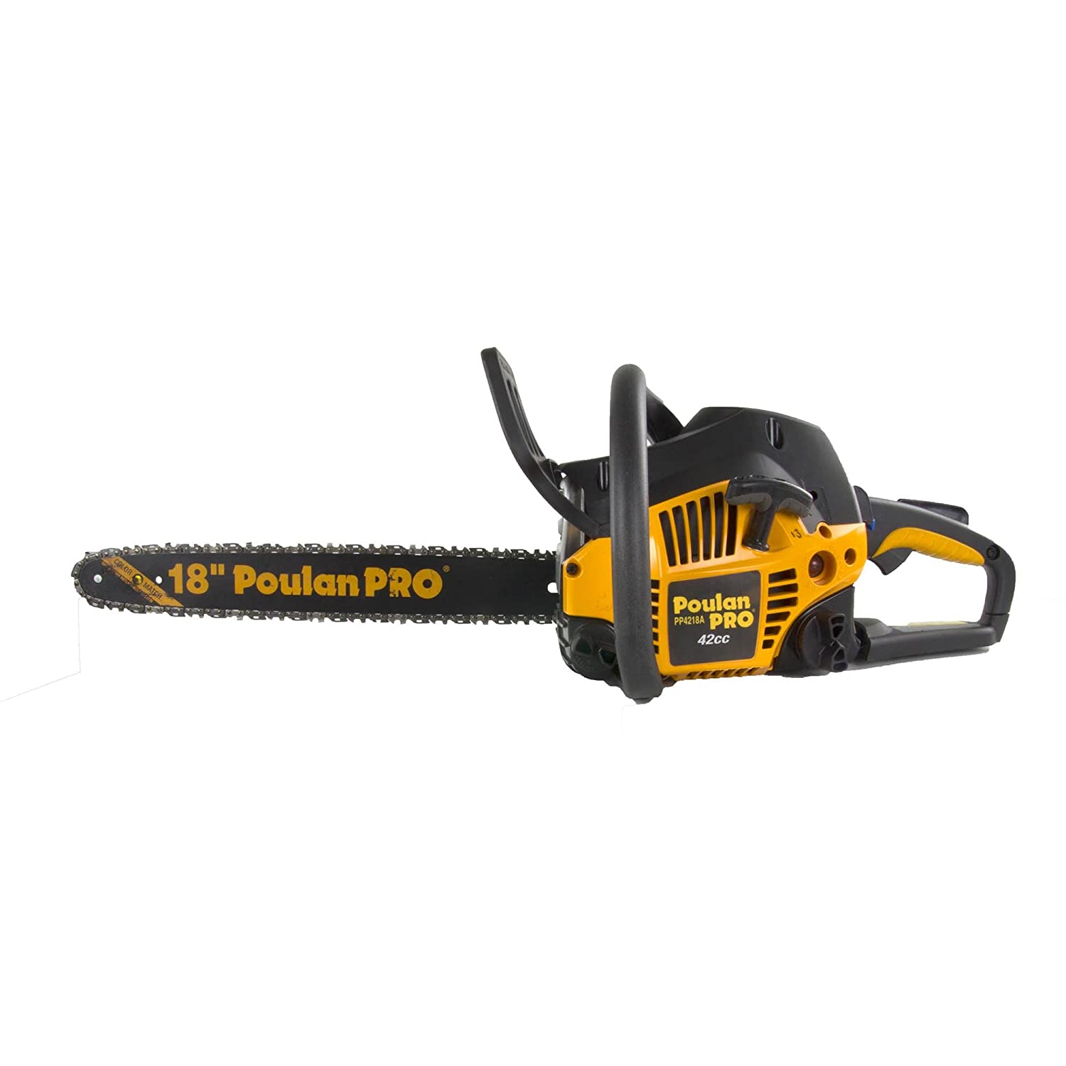 Poulan Pro PP4218A 18 42CC 2 Cycle Gas Powered Tree Chainsaw w/Case (Certified Refurbished)