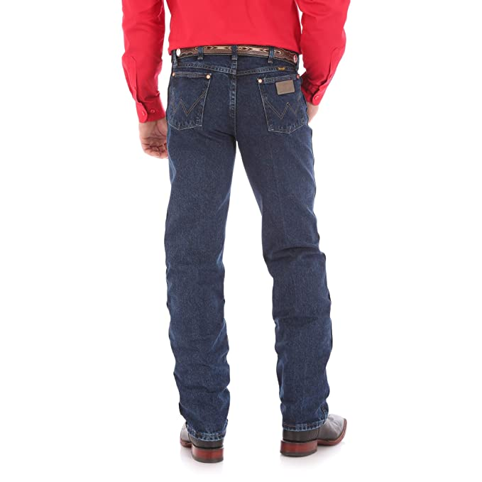d06eef76 Wrangler Men's Big & Tall Cowboy Cut Original Fit Jean at Amazon Men's  Clothing store: