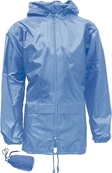shelikes Kids Girls Boys Unisex Kagool Rain Jacket KAG in Bag