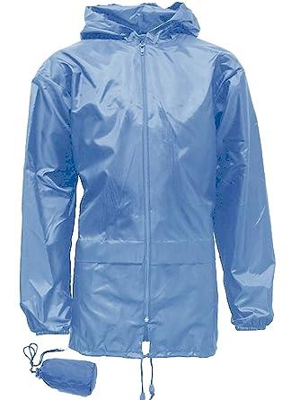 Boys Girls KAG in a Bag Kagool Kagoul Rain Coat Jacket Age  4-16 (9 10  Years (28) 56334b23c