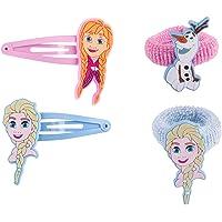 SIX Kids Disney Frozen - Die Eiskönigin Set mit Haargummis und Haarspangen (304-476)