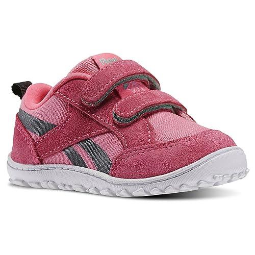 Reebok Ventureflex Chase, Zapatos de Primeros Pasos Unisex Bebé, Rosa/Negro/Verde/Blanco (Solar Pink/Coal/Exotic Teal/White), 26 EU