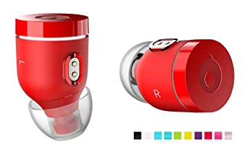 Air by crazybaby (Nano) Auriculares inalámbricos Bluetooth con cápsula de Carga: Amazon.es: Electrónica