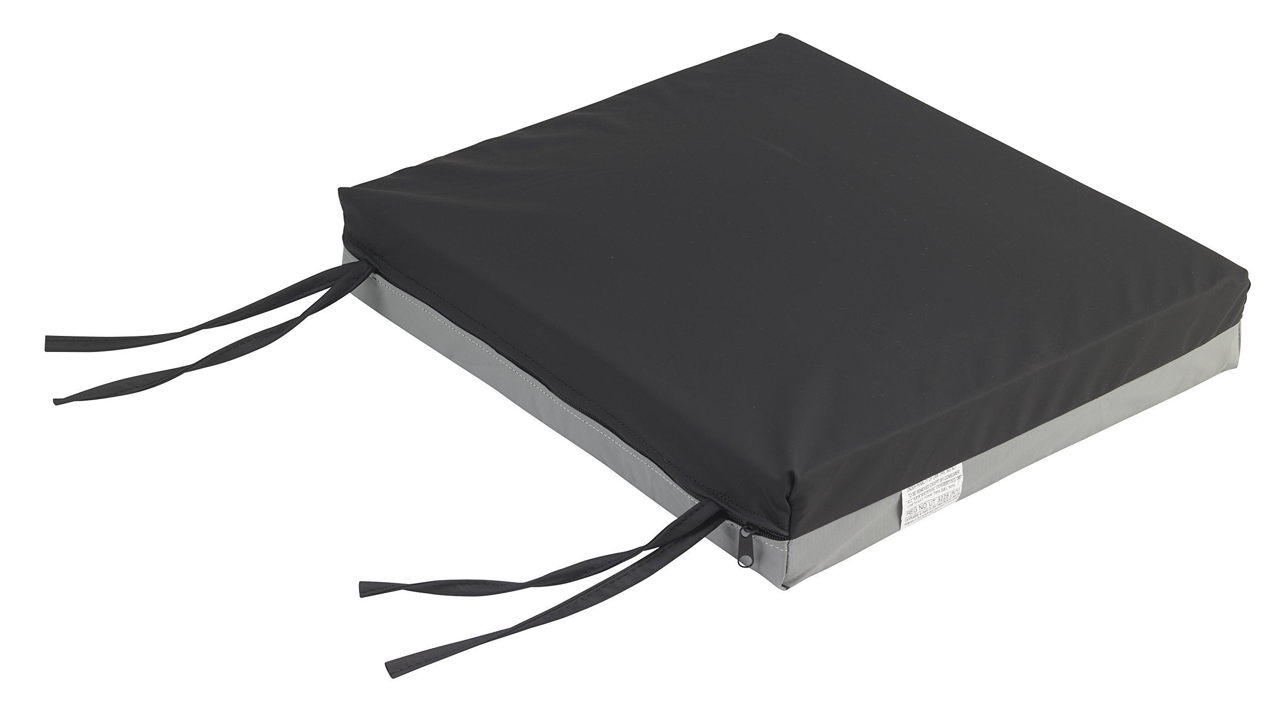 Drive Medical Gel-U-Seat Gel/Foam Cushion, 18'' x 20'' x 3'' by Drive Medical