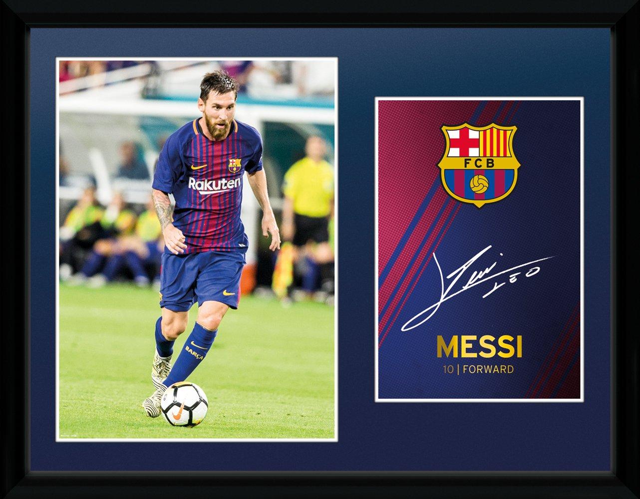 GB Eye - Póster Barcelona Messi 17/18