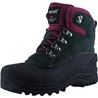 riemot Botas de Nieve para Hombre y Mujer, Botas de Senderismo Impermeables Deportes Trekking Zapatos Invierno Cálido…