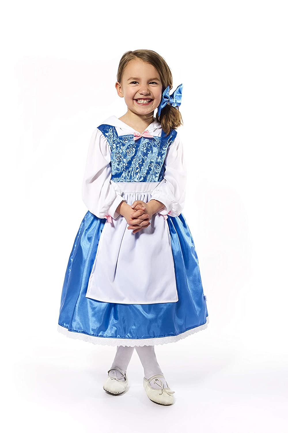 19af5d29c Little Adventures Beauty Day Dress with Bow Costume (Small Age 1-3 ...