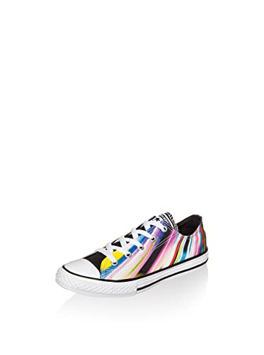 6fd60eb4b2f1 Image Unavailable. Image not available for. Color  Converse Chuck Taylor  All Star Stripe Ox Girls Kids Trainer Shoe Black Casino - US