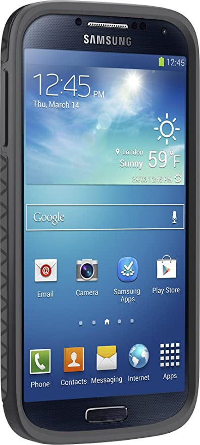 buy popular 5654a 79138 Otterbox Symmetry Series Case for Samsung Galaxy S4 - Retail Packaging -  Triangle Grey
