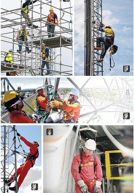 HYRL Arnés De Seguridad Industrial De Cuerpo Completo De ...