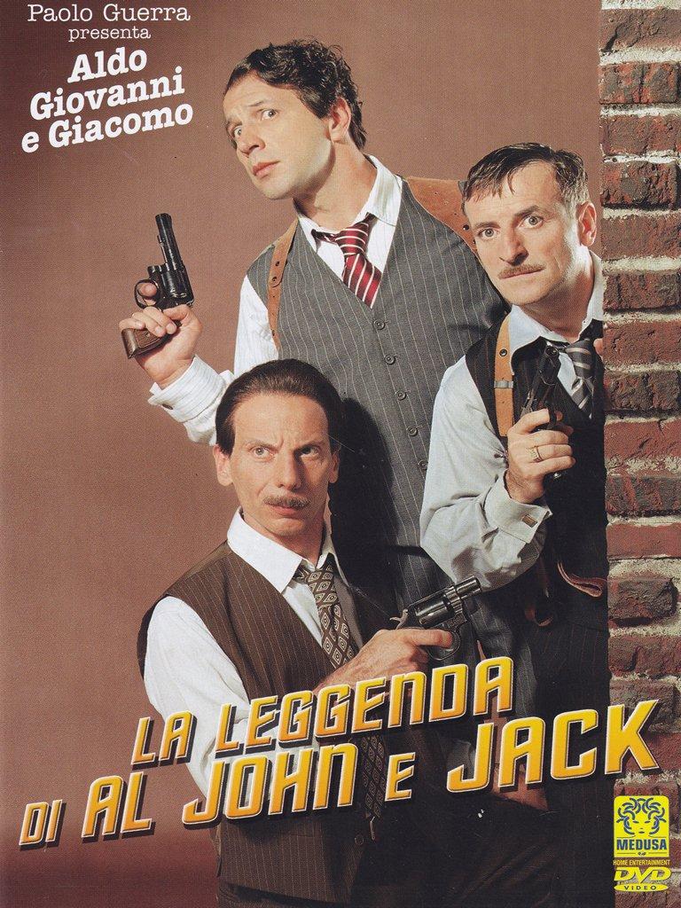 The Legend of Al, John and Jack ( La Leggenda di Al, John e Jack ) [ NON-USA FORMAT, PAL, Reg.0 Import - Italy ]