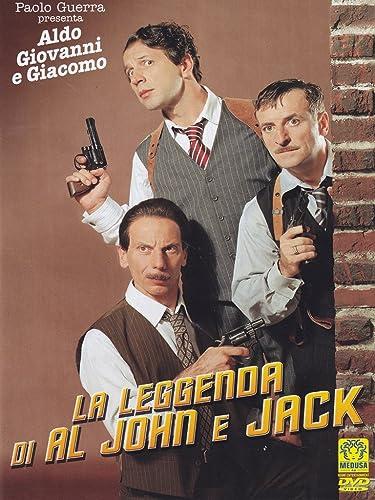 Amazon Com The Legend Of Al John And Jack La Leggenda Di Al John E Jack Non Usa Format Pal Reg 0 Import Italy Aldo Giacomo Antonio Catania Giovanni Aldo