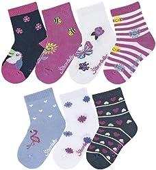 Herstellergr/ö/ße M/ädchen Baby-S/öckchen 3er-Pack Maus Socken , per pack T/ürkis Sterntaler Baby Hellt/ürkis 400