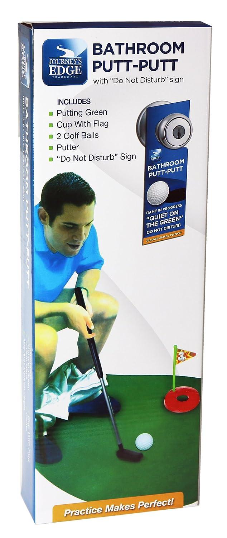 Amazon com   Journey  39 s Edge Bathroom Putt Putt Mini Golf Putting Game with Mat   Sports  amp  Outdoors. Amazon com   Journey  39 s Edge Bathroom Putt Putt Mini Golf Putting