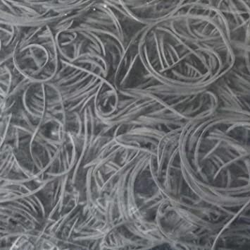 100 g Gummiringe Gummibänder Haushaltsgummis schwarz 40 mm Ø 1,2 x 4 mm breit