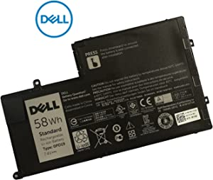DELL 0PD19 Battery 7.6V 58WH for DELL Inspiron 14 5442 14 5443 14 5445 14 5447 14 5448 14 5457 15 5542 15 5543 15 5545 15 5547 15 5548 15 5557 DELL Latitude 3450 3550 Compatible with TRHFF 43WH Too