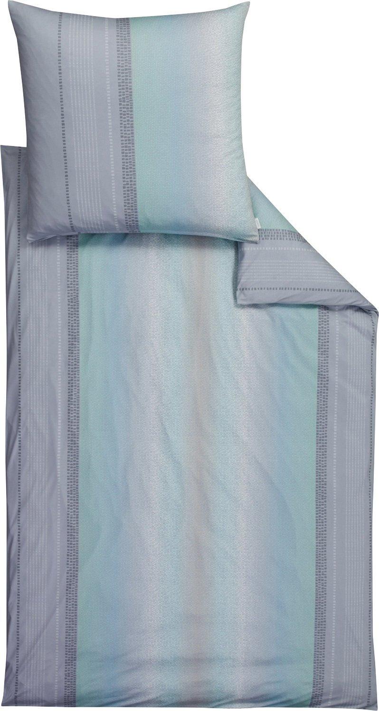 Estella Bettwäsche Interlock-Jersey bleu Größe 135x200 cm (80x80 cm)