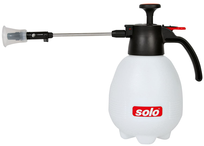 Solo 402 COMFORT Hand-Druckspritze, 2L Füllvolumen und verstellbare, schwenkbare Universal-Düse 40201