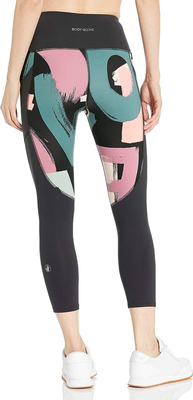 Body Glove Womens Performance Fit Activewear Capri Pant Yoga Pants