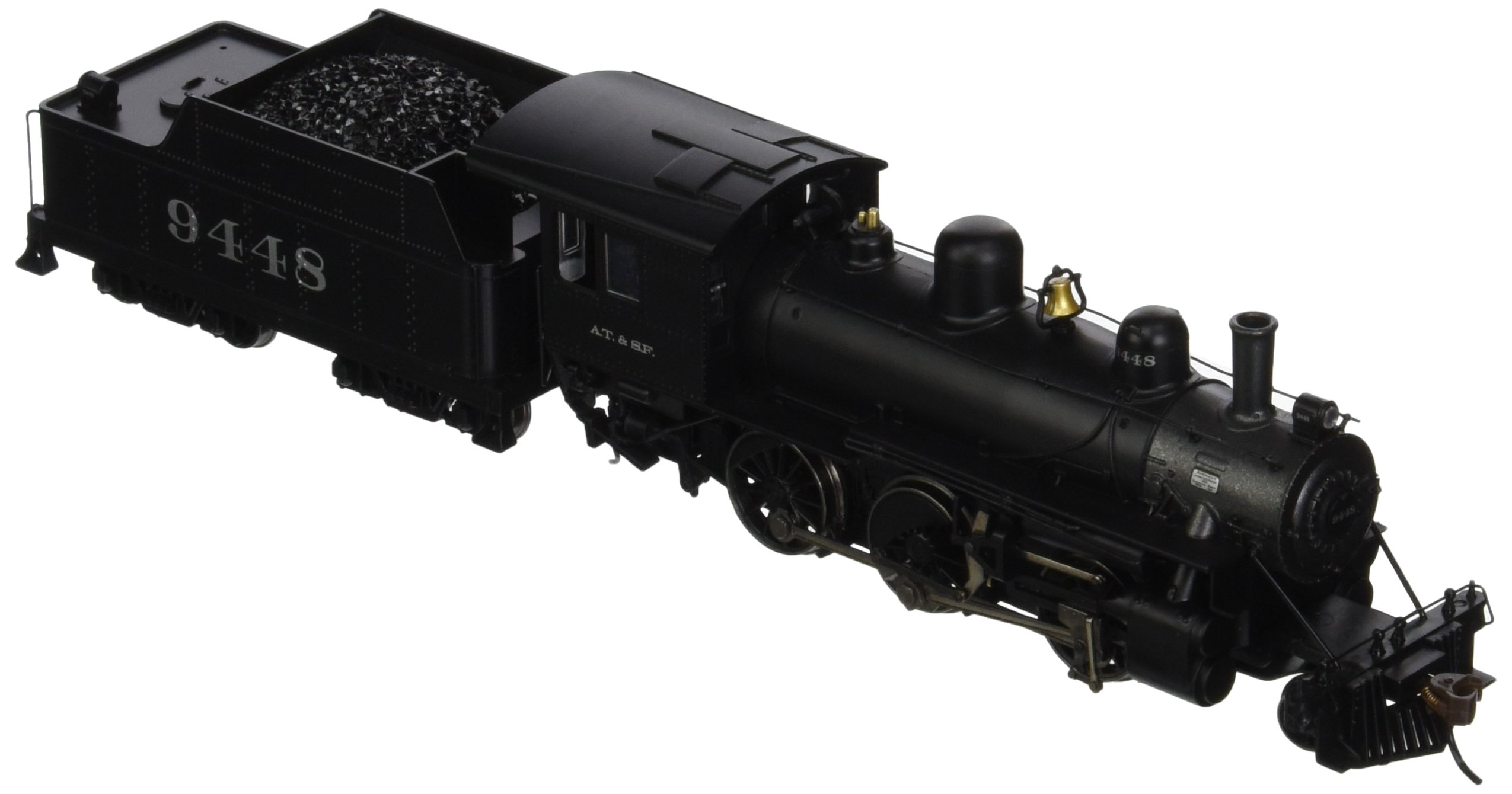 Bachmann Industries Alco 2-6-0 DCC Sound Value Equipped Locomotive - ATSF #9448 - (1:87 HO Scale)