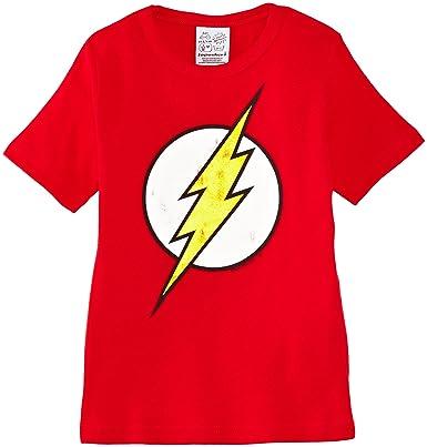 Logoshirt Kids Shirt DC Flash Logo e422f1559d1fa