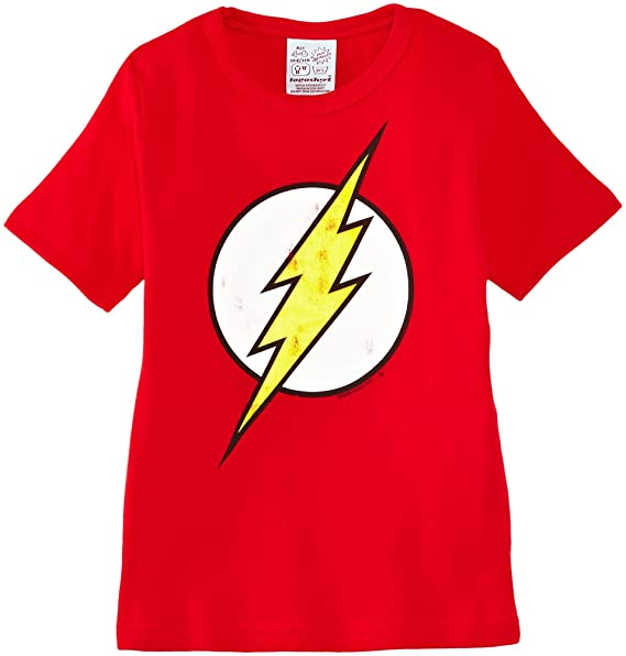 b01a3ae56 Logoshirt Kids Shirt DC Flash Logo Camiseta para Niños  Amazon.es  Ropa y  accesorios