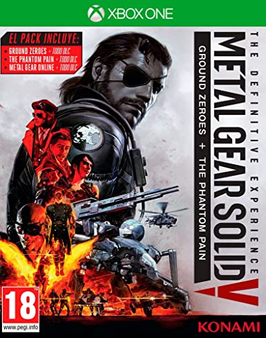 Metal Gear Solid V: The Definitive Experience: Amazon.es: Videojuegos