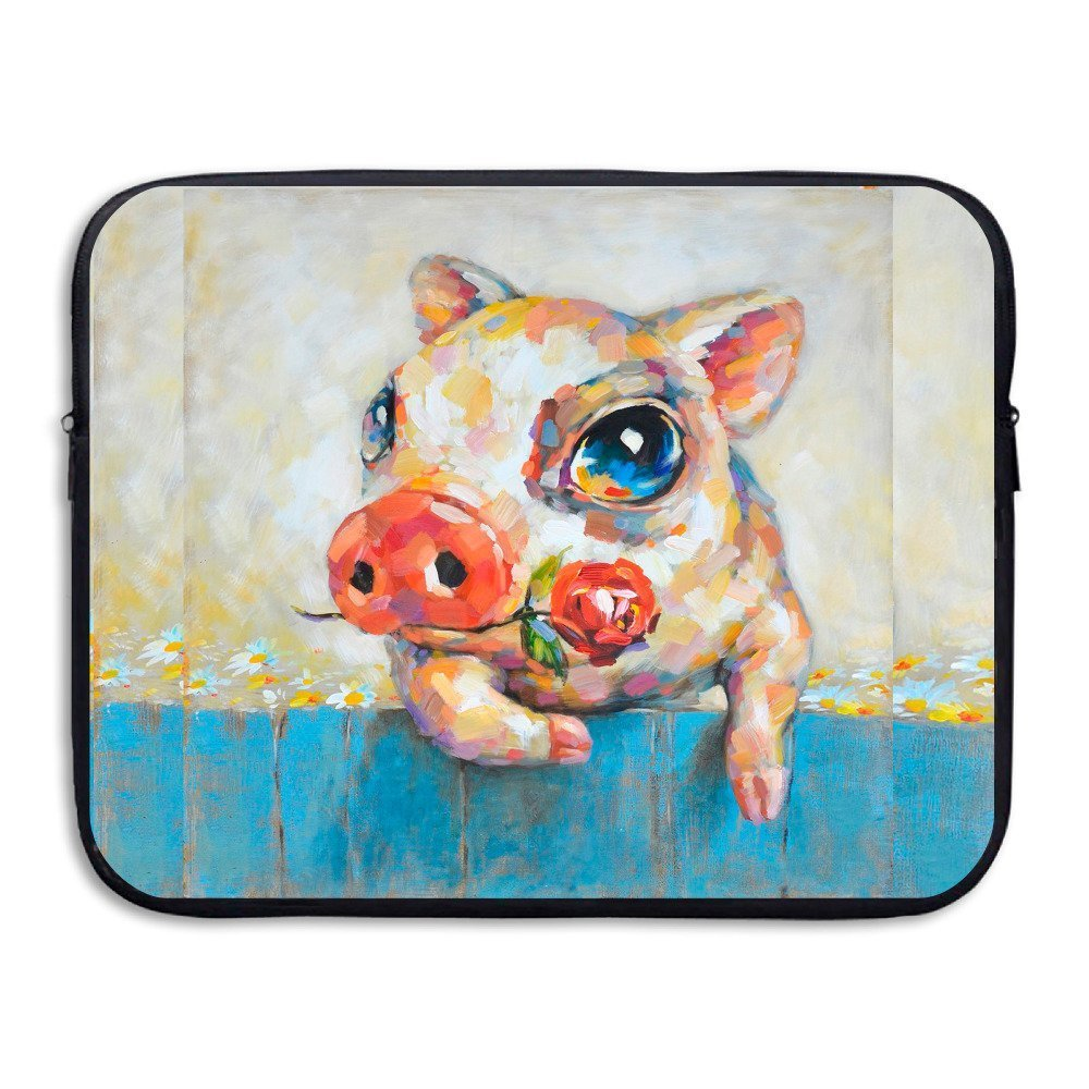 Summer Moon Fire Popular Pig Briefcase Handbag Case Cover For 13-15 Inch Laptop, Notebook, MacBook Air/Pro