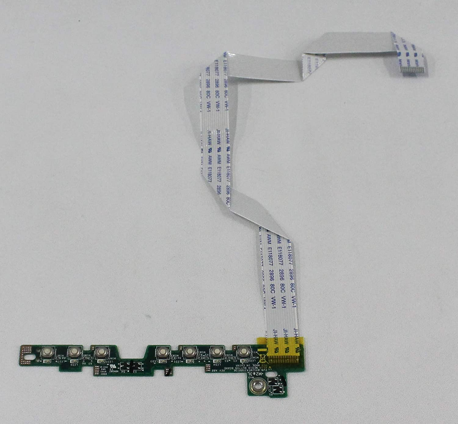 ACS COMPATIBLE with DELL VOSTRO 1400 INSPIRON 1420 Media Buttons Board Panel Replacement