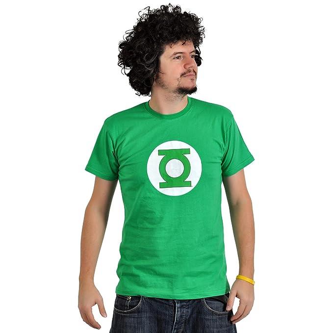 Linterna Verde - Camiseta Logotipo Verdes Farol DC Comics Verde M: Amazon.es: Ropa y accesorios