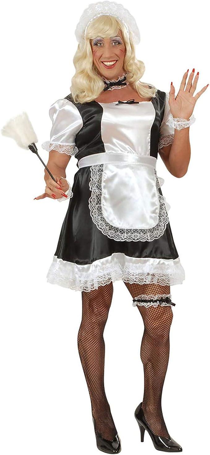 WIDMANN Desconocido Disfraz de Criada Francesa Drag Queen - Talla ...
