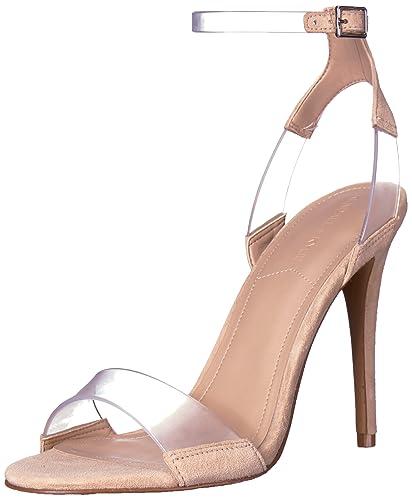489252bc5cc KENDALL + KYLIE Women s ENYA Heeled Sandal Natural 6 Medium US