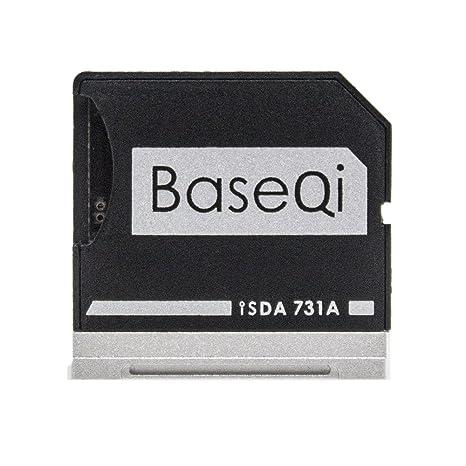 Adaptador de tarjeta microSD de aluminio para Dell XPS de 13 pulgadas. BASEQI.