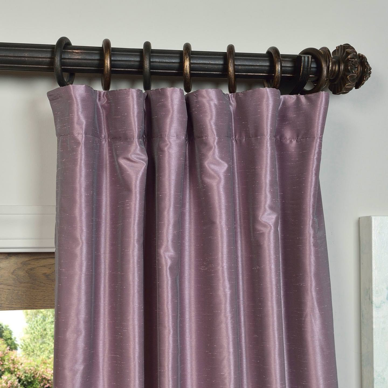 zoom loading luxury curtains com curtainworks chocolate panel pleat curtain dupioni pinch silk