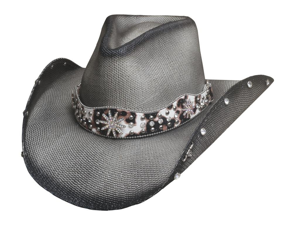 BULLHIDE HATS SASSY COWGIRL COLLECTION LIGHTING STRIKE 2837 (MEDIUM)
