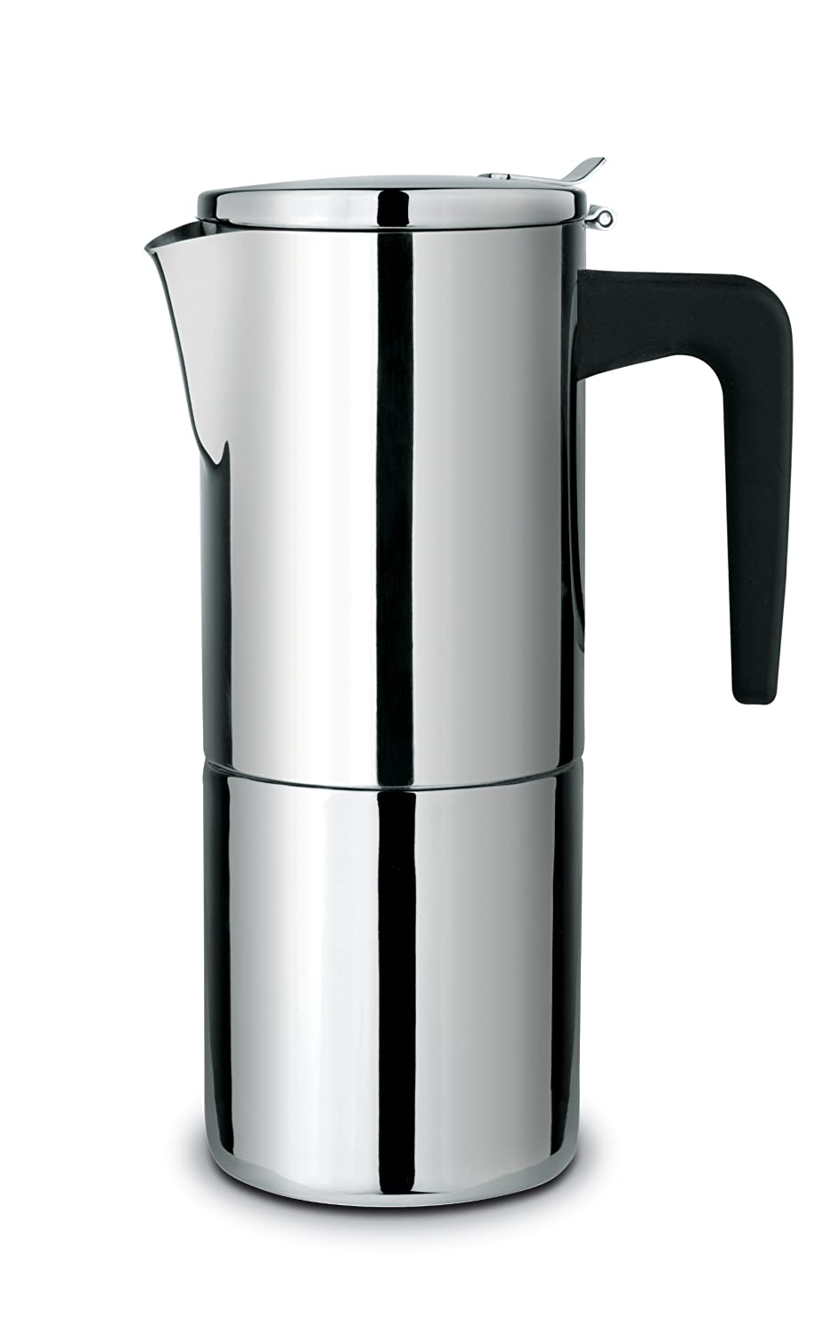 Cuisinox COF-A6 Alpha 6-Cup Espresso Coffeemaker, Stainless Steel Cuisinox (Import)