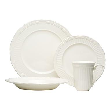 Red Vanilla Tuscan Villa 16-Piece Dinnerware Set