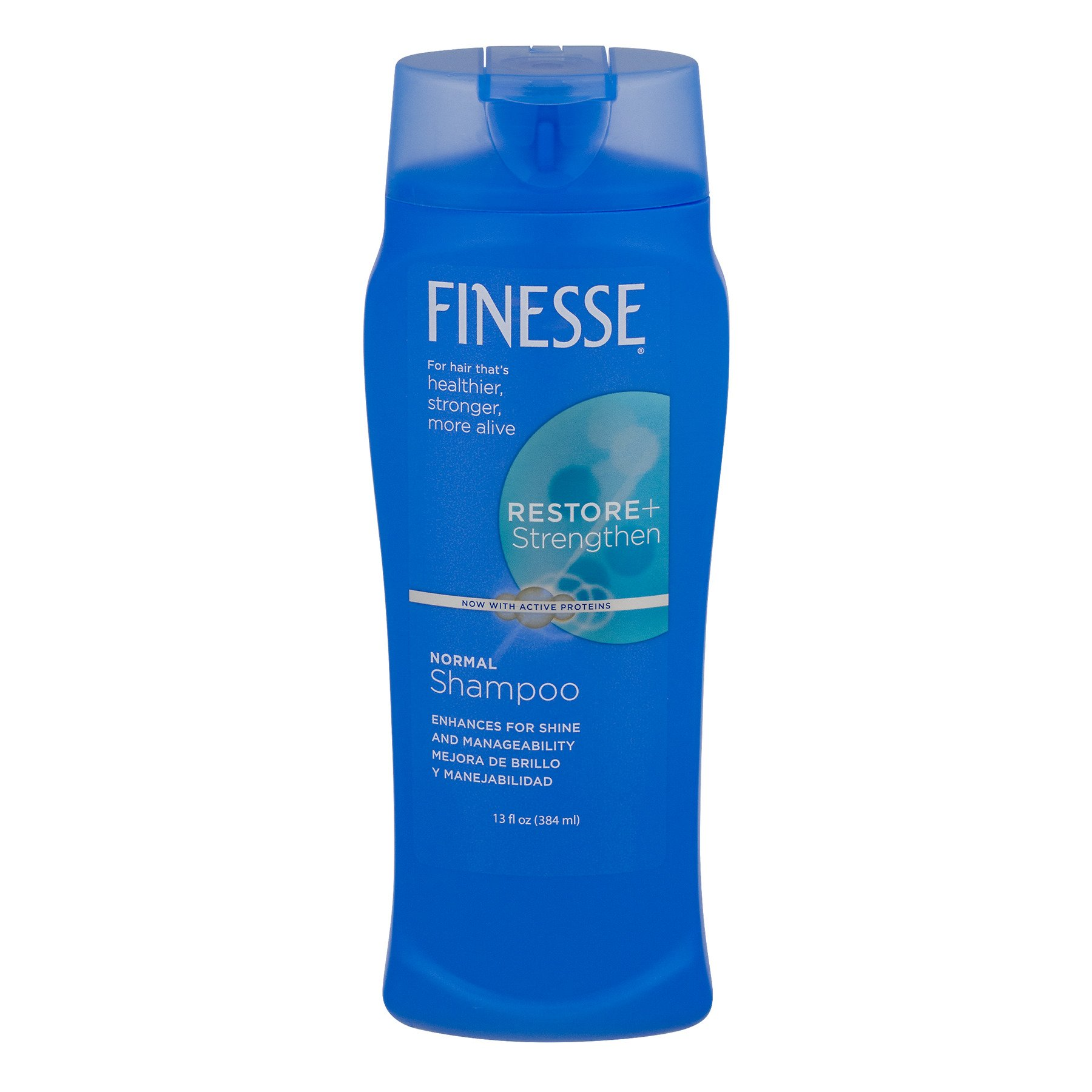 Finesse Restore + Strengthen, Shampoo 13 oz (Pack of 3)