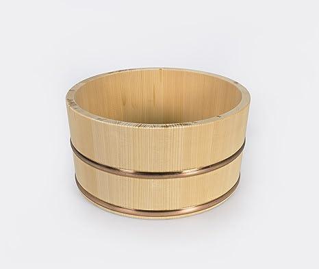 Umezawa Cubo De Madera Japonesa Baño - Onsen Carrito De La Ducha De Estilo para Su