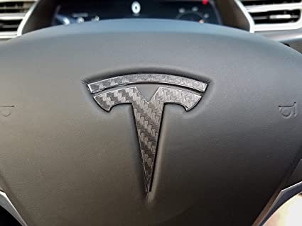 Amazon Com Steering Wheel Tesla Model S Model X Carbon Tesla Logo