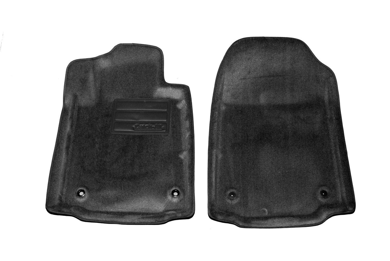 Set of 2 Lund 6080049 Catch-All Black Front Floor Mat