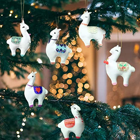 This 100/% handmade adorable Christmas Wrapped felt Gift ornament Christmas felt ornament Christmas tree