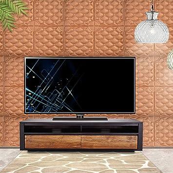 YANGMAN Paneles de Pared 3D Impermeables, Papel de Pared de diseño de ladrillo Europeo Autoadhesivo de Espuma marrón Oscuro para decoración de Paredes para el hogar, 60 x 60 cm,40pack154.8sq.ft: Amazon.es: Hogar