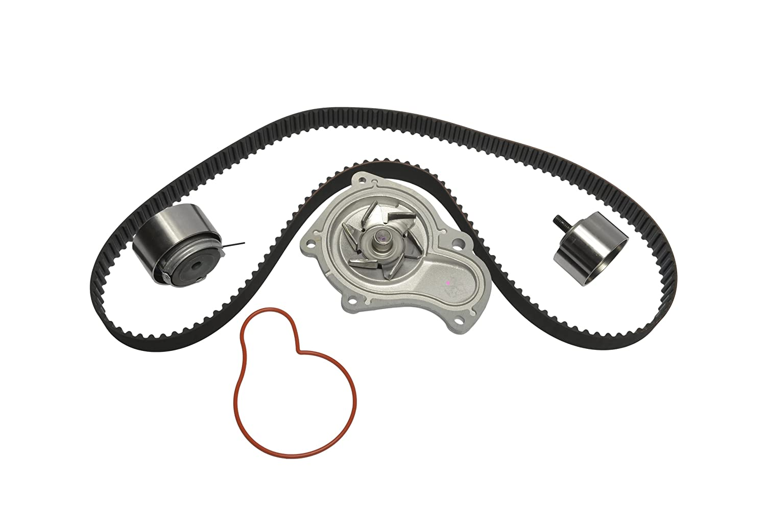 With Water Pump Continental ContiTech Continental Elite GTKWP265 Timing Belt Component Kit