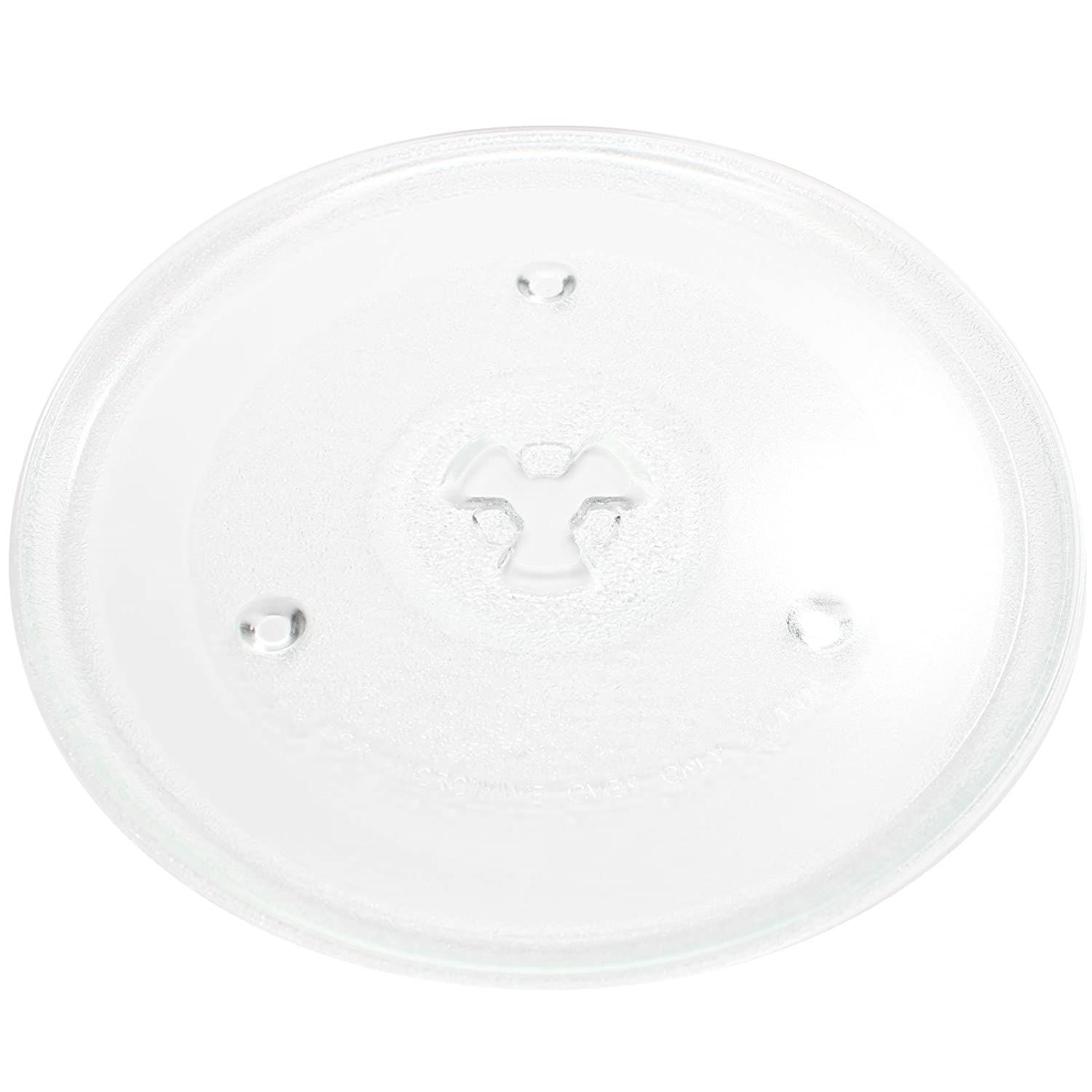 "Replacement Magic Chef MCM990ST Microwave Glass Plate - Compatible Magic Chef P23, 252100500497 Microwave Glass Turntable Tray - 10 1/2"" (270mm)"