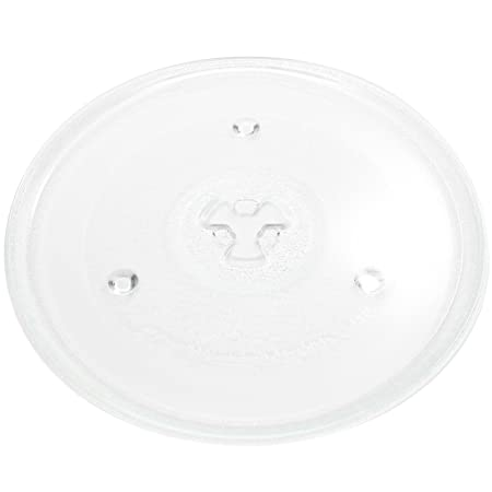 Replacement for Sunbeam SGB8901 Microwave Glass Plate - Compatible with Sunbeam GAEMU1000P23 Microwave Glass Turntable Tray - 10 1/2