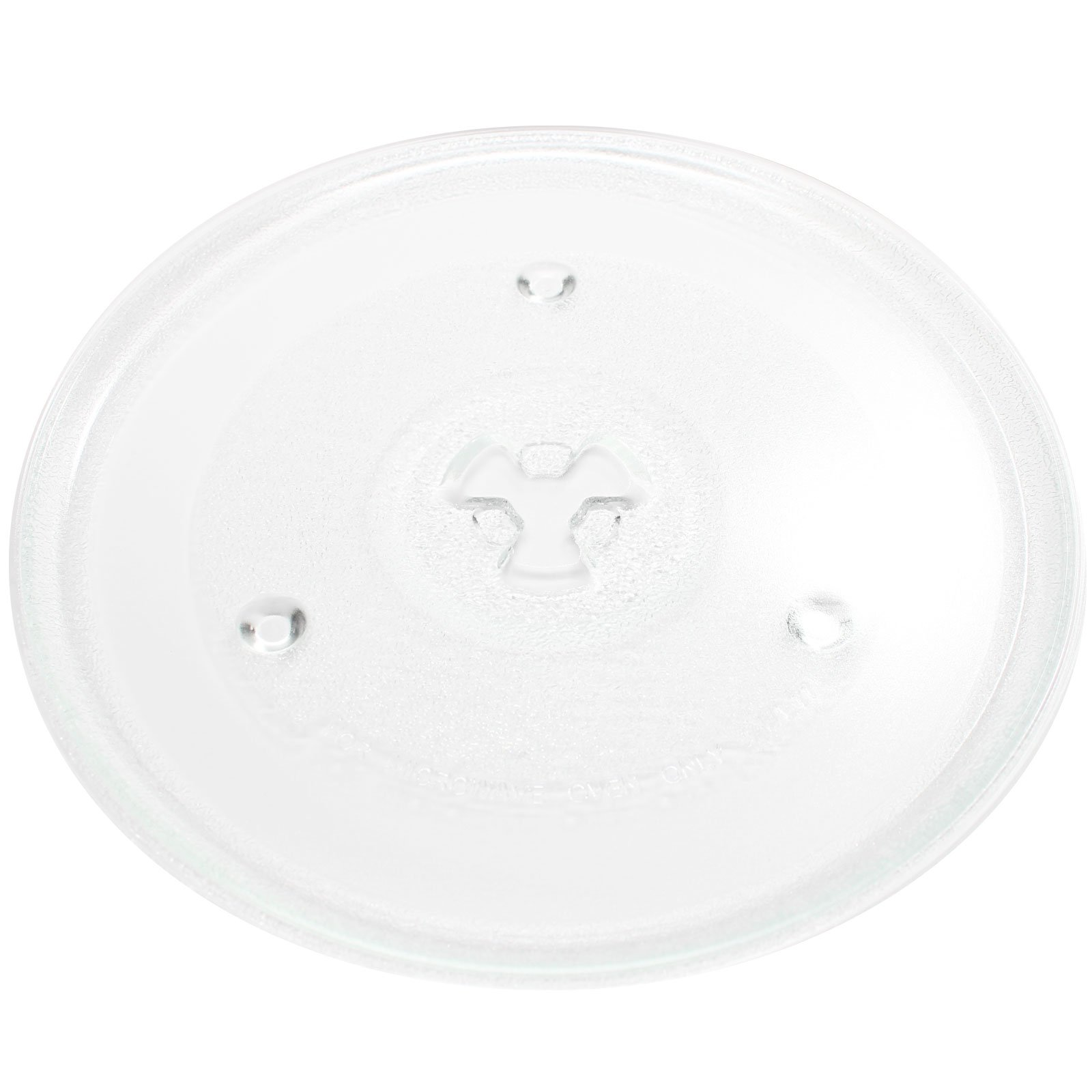Replacement Hamilton Beach HB-P90D23A Microwave Glass Plate - Compatible Hamilton Beach 252100500497 Microwave Glass Turntable Tray - 10 1/2'' (270mm)
