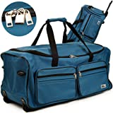 Reisetasche mit Trolleyfunktion 85L - 160L Sporttasche